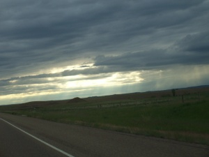 Big Sky Country between Miles City and Billings