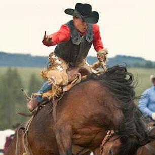Kaila riding