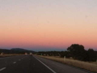 Day 1 AZ Lavender sunset