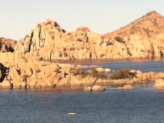 Watson Lake Rocks