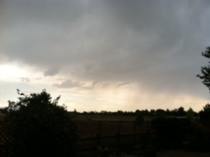 Afternoon storm
