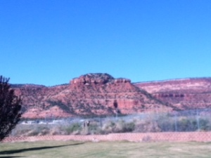 Kanab red rocks