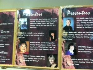 Presenters' board